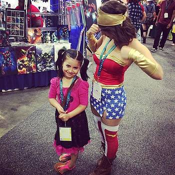 Wonder Girls #wc2016 #wondercon by Claudia Garcia Trejo