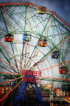 Wonder Wheel by HD Connelly