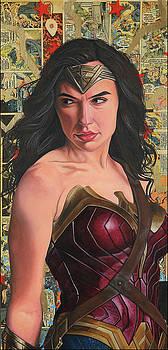 Wonder Woman  by Anthony Jensen