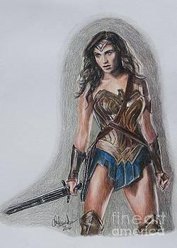Wonder Woman by Christine Jepsen