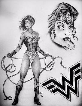 Gilbert Photography And Art - Wonder Woman