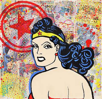 Wonder Woman by Karen Tullo