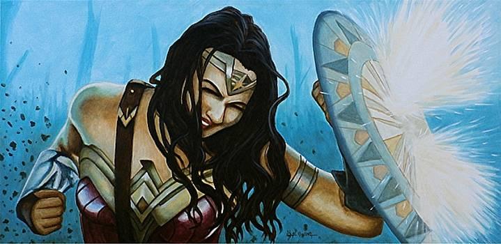 Wonder Woman No Man's Land by Al  Molina