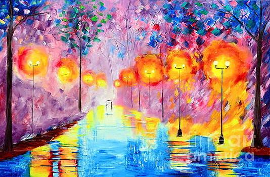 Wonderful Rainy Nights by Mariana Stauffer