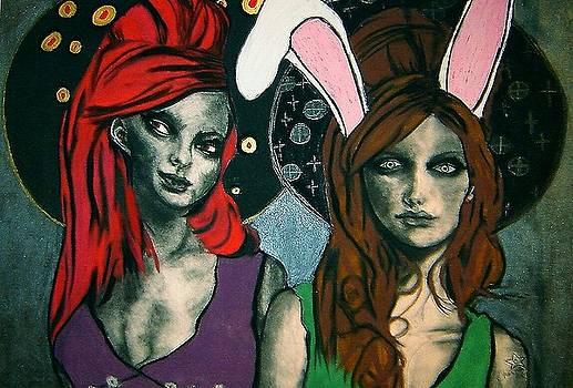 Wonderland Girls by Chrissa Arazny- Nordquist