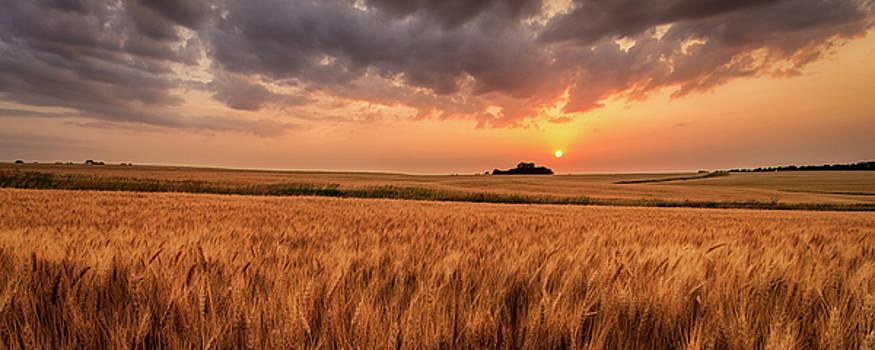 Won't Be Long Pano 24x36 crop by Scott Bean