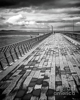 Wood and Pier by Perry Webster