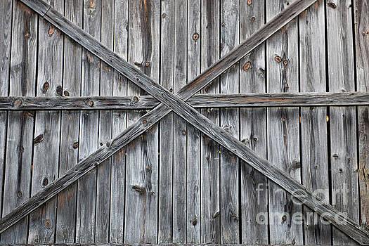 Wood Barn Door by Dale Powell