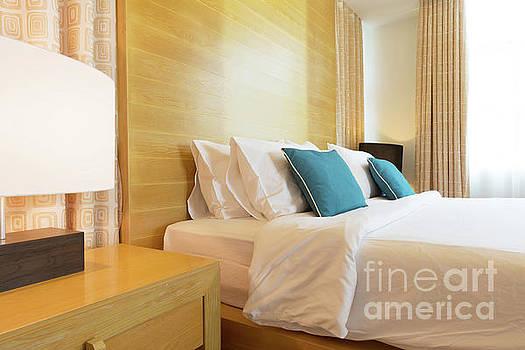 Wood Bed by Atiketta Sangasaeng