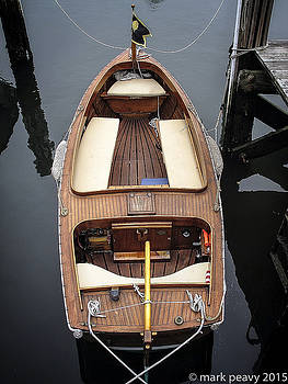 Wood Boat Nantucket by Mark Peavy