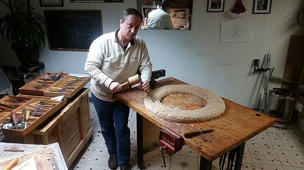 Wood Carving by Patrick RANKIN