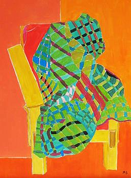 Wood Chair by Martin Silverstein