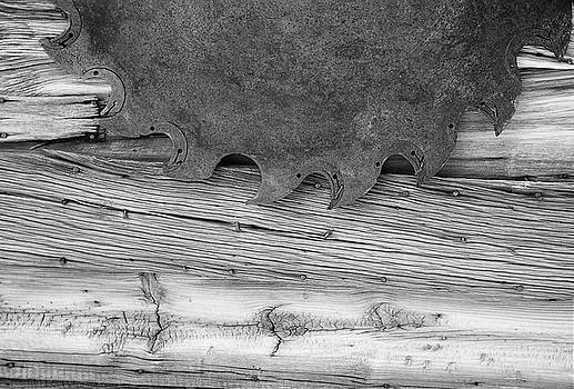 Wood cut by Gordon Ripley