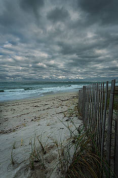 Rick Strobaugh - Wood Fence on the Shore