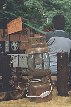 Wood Lamp by David Cardona