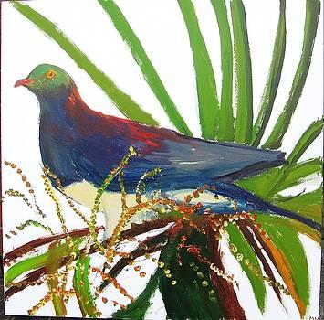 Wood Pigeon by Luxmi Benjamin
