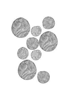 Wood Print Vertical by Cortney Herron
