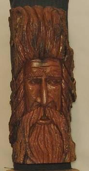 Wood Spirit III by Russell Ellingsworth