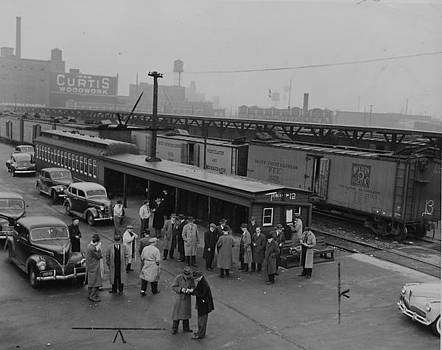 Chicago and North Western Historical Society - Wood Street Terminal and Potato Yard