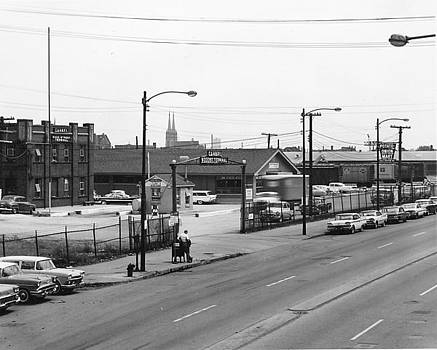 Chicago and North Western Historical Society - Wood Street Yard - 1959