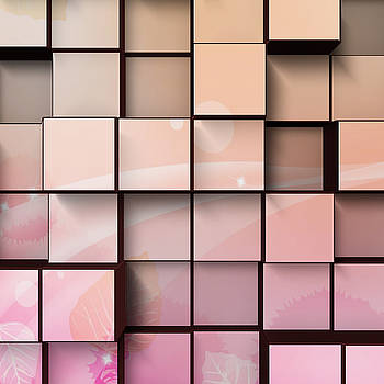 Kathy Kelly - Wood Wall in Pink