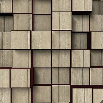 Kathy Kelly - Wood Wall Shelving