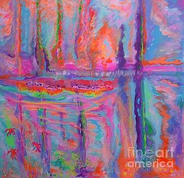Wooded Pond Nassau by Sharon Worley