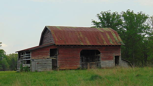 Wooden Barn by Charlotte Gray