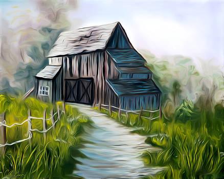 Claude Beaulac - Wooden Barn Dreamy Mirage