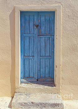 Sophie McAulay - Wooden blue door