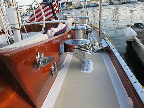 Wooden Boat SEries - Port Deck by PJ  Cloud