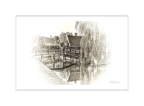 Wooden Bridge by Maciek Froncisz