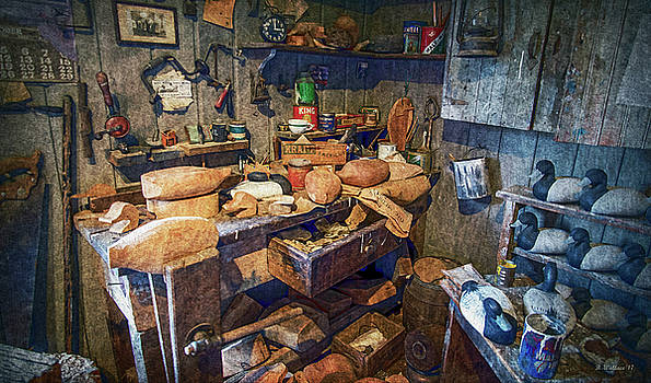 Wooden Decoy Workbench - Textures by Brian Wallace