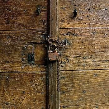 BERNARD JAUBERT - Wooden door