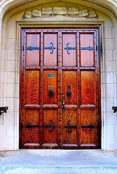 Wooden Doors by Robbie Basquez