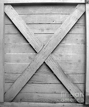 Wooden Fence Gate by Tin Tran