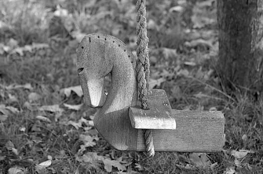 Wooden horse by Renee Pettersson