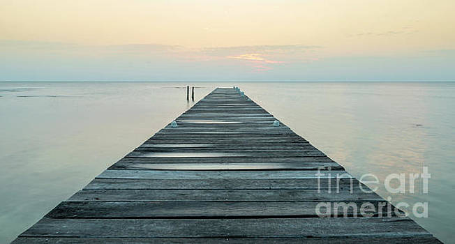 Tim Hester - Wooden Jetty At Dawn