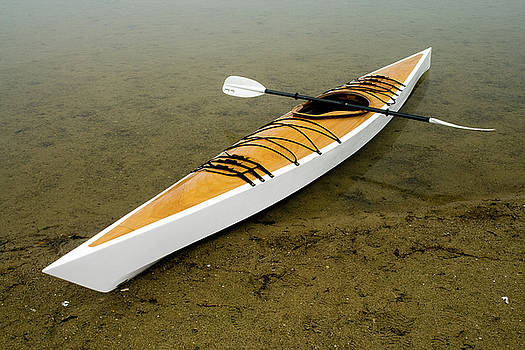 Rich Sirko - Wooden kayak