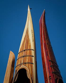 Wooden Kayaks by Lauren Brice