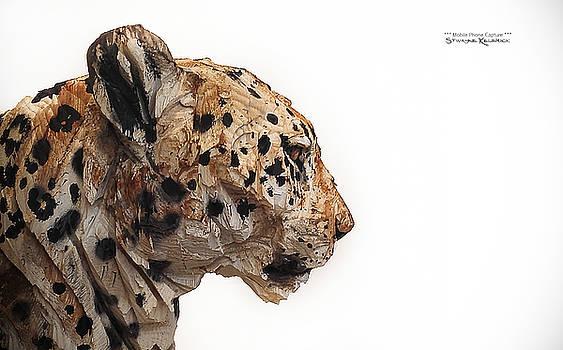 Wooden panther by Stwayne Keubrick