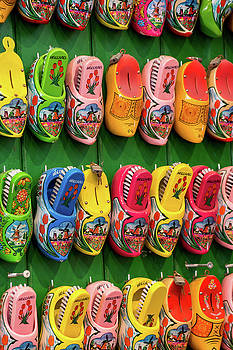 Wooden Shoes From Amsterdam by Elly De vries