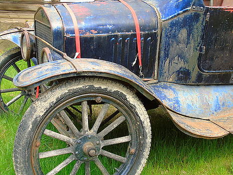 Wooden Spokes and Rotting Rubber by Susan Lafleur