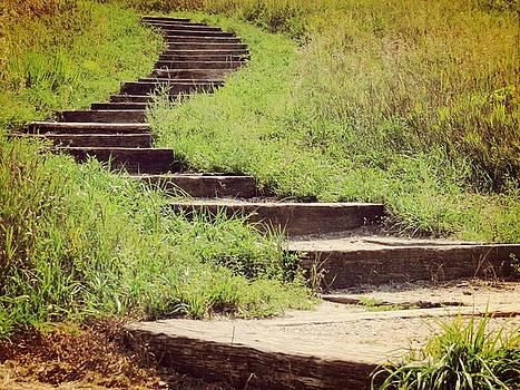 Kyle West - Wooden Steps
