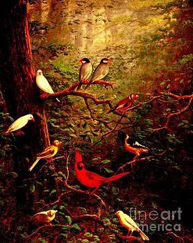 Peter Gumaer Ogden - Woodland Birds