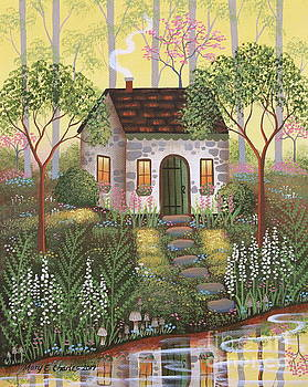 Woodland Cottage by Mary Charles