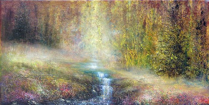 Woodland Falls by Ann Marie Bone