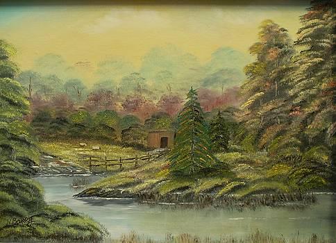 Woodland Hideaway by Noel Barry