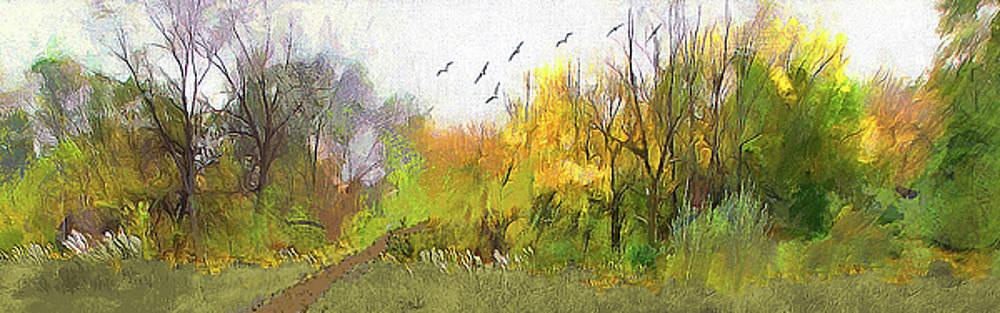 Woodland Threshold by Cedric Hampton