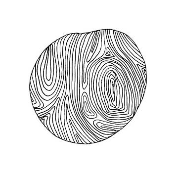 Woodprint 2 by Cortney Herron